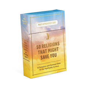 50 Religions that Might Save You Cards