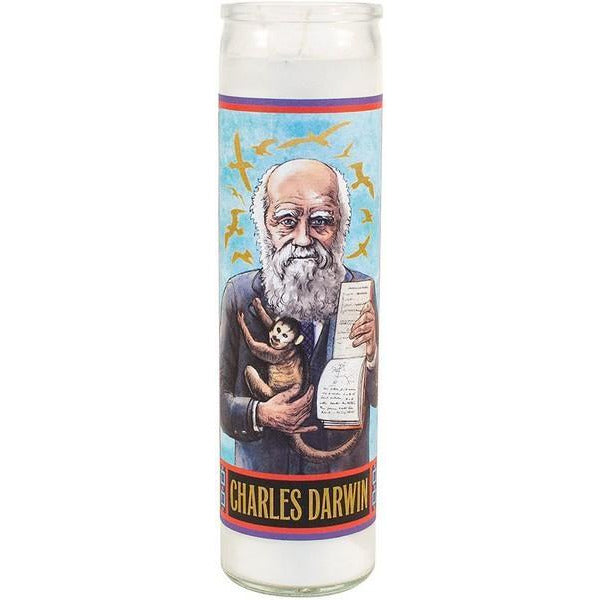 Darwin - Secular Saint Candle