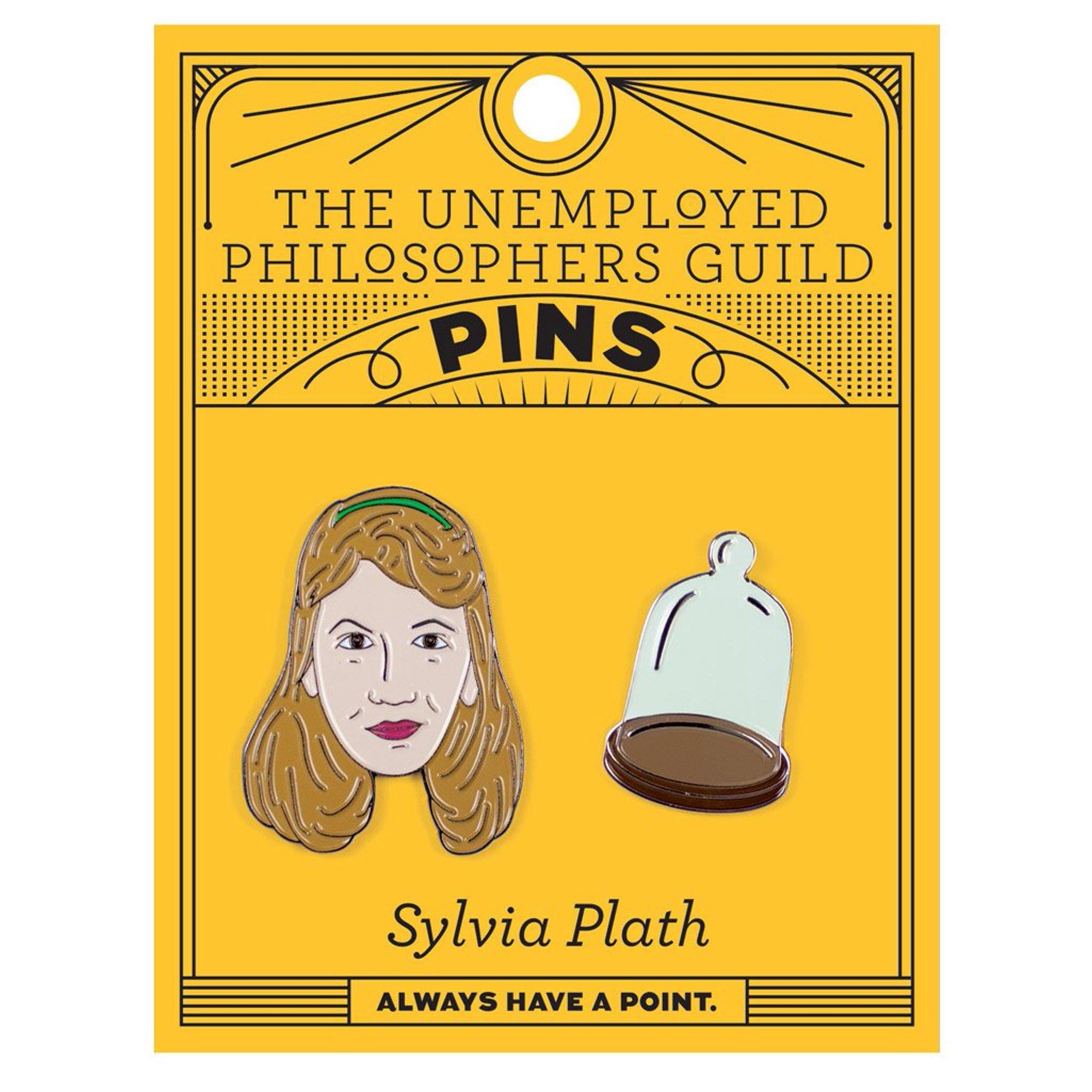 Sylvia Plath & Bell Jar - Enamel Pin Set