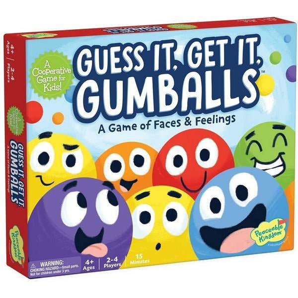 Guess It, Get It, Gumballs - A Game of Faces & Feelings
