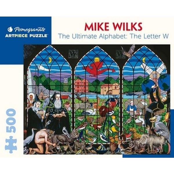 Letter W Mike Wilks - 500 Pieces