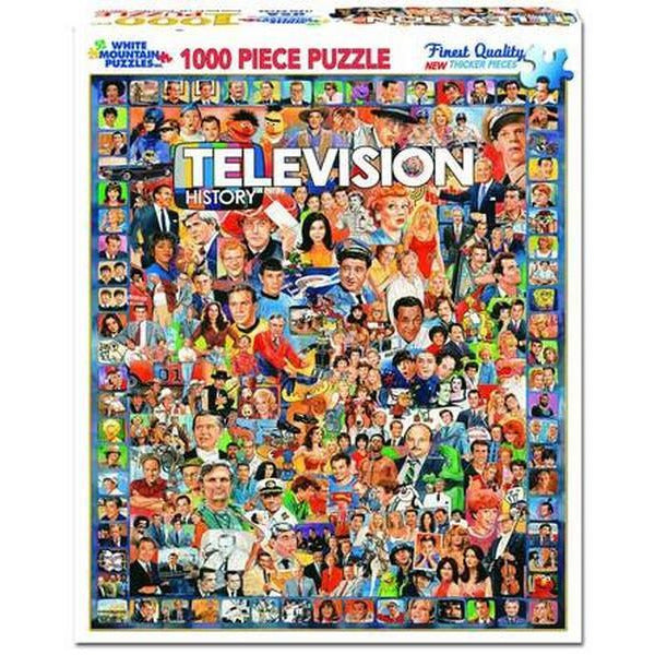 White Mountain Puzzle Television 1000 Pieces