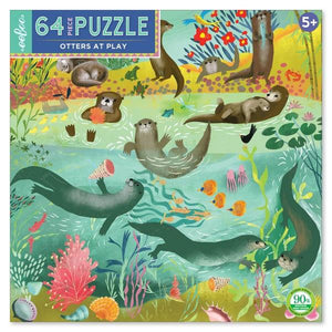 Otters at Play - 64 Pieces