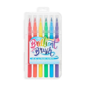 Brilliant Brush - Brush Markers Set of 12