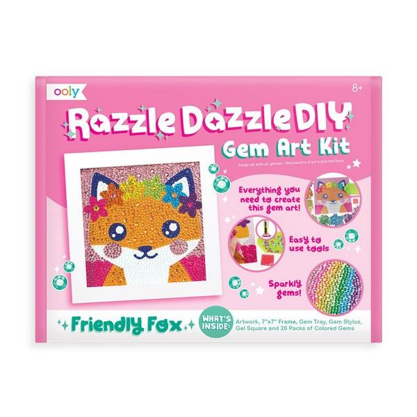 Gem Art DIY Kit - Friendly Fox