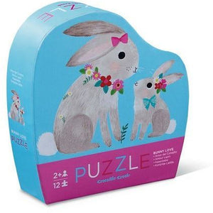 Bunny Love Mini Puzzle - 12 Pieces