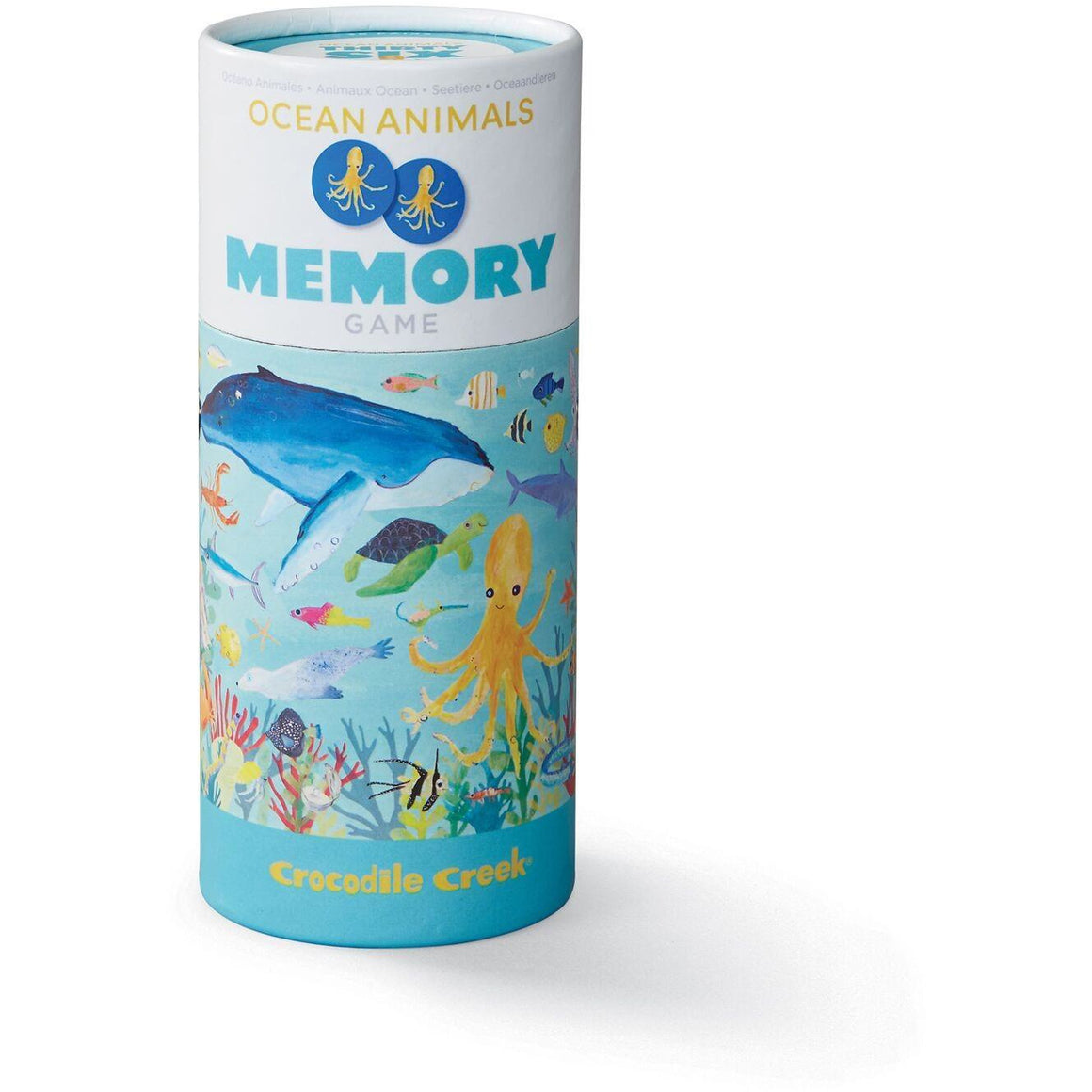 Ocean Animals Memory Game