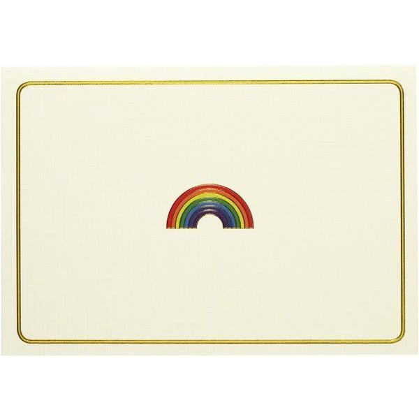 Rainbow Peter Pauper Blank Notecards | The Gifted Type