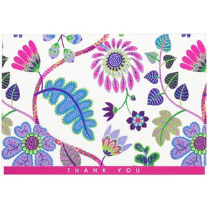 Fantasy Floral Thank You Notecards
