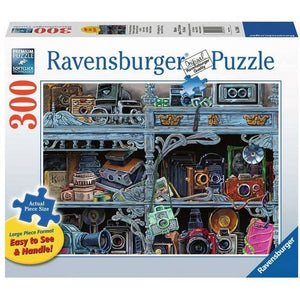 Ravensburger Puzzle Camera Evolution - 300 Pieces