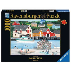 Ravensburger Puzzle Fisherman's Cove - 1000 Pieces