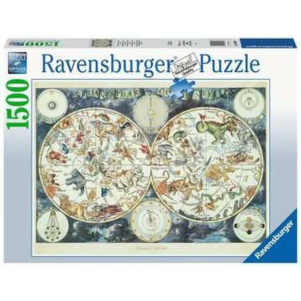 Ravensburger Puzzle Map of the World - 1500 Pieces