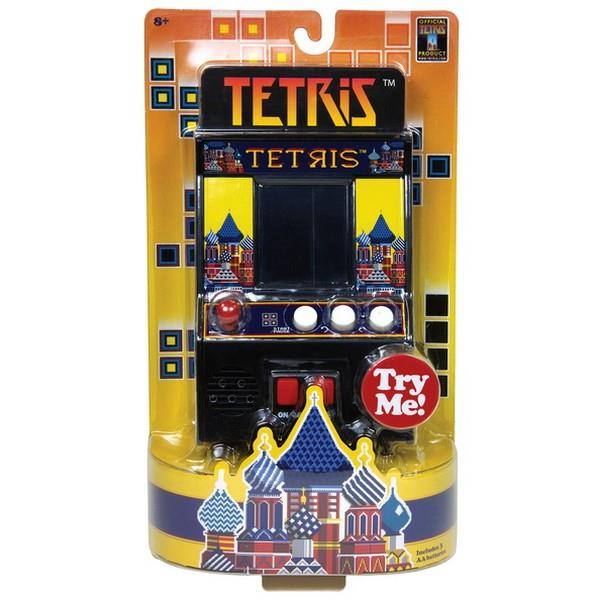 Retro Arcade Game Tetris