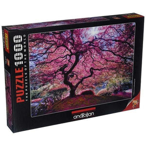 Anatolian Puzzle Pink Tree 1000 Pieces