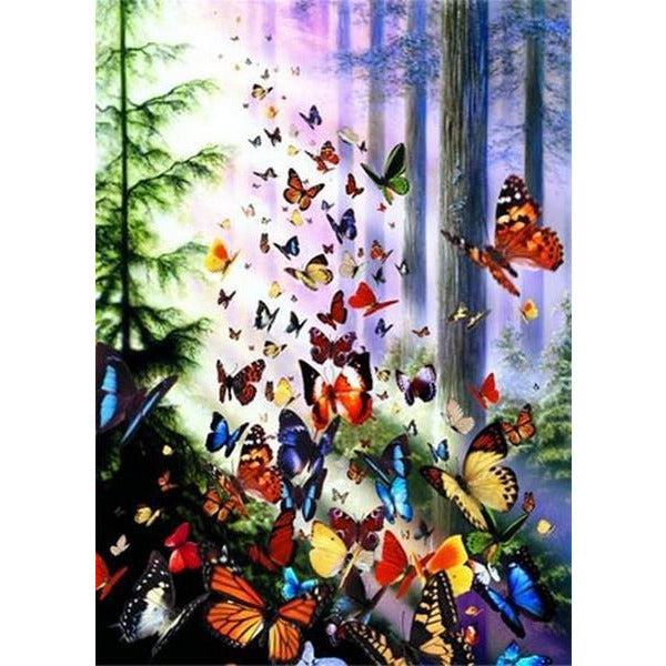Anatolian Puzzle Butterfly Woods 1000 Pieces