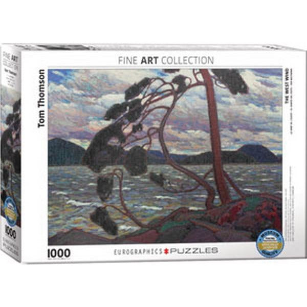 Tom Thomson The West Wind Eurographics Puzzle