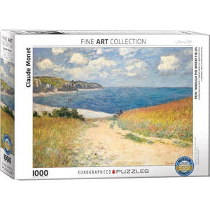 Monet Path Through The Wheat Fields Eurographic Puzzle 1000 Pieces
