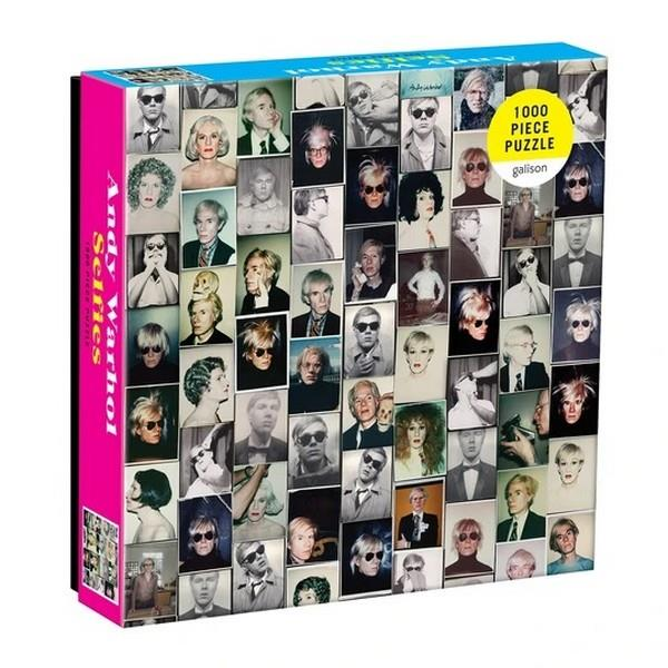 Andy Warhol Selfies - 1000 Pieces