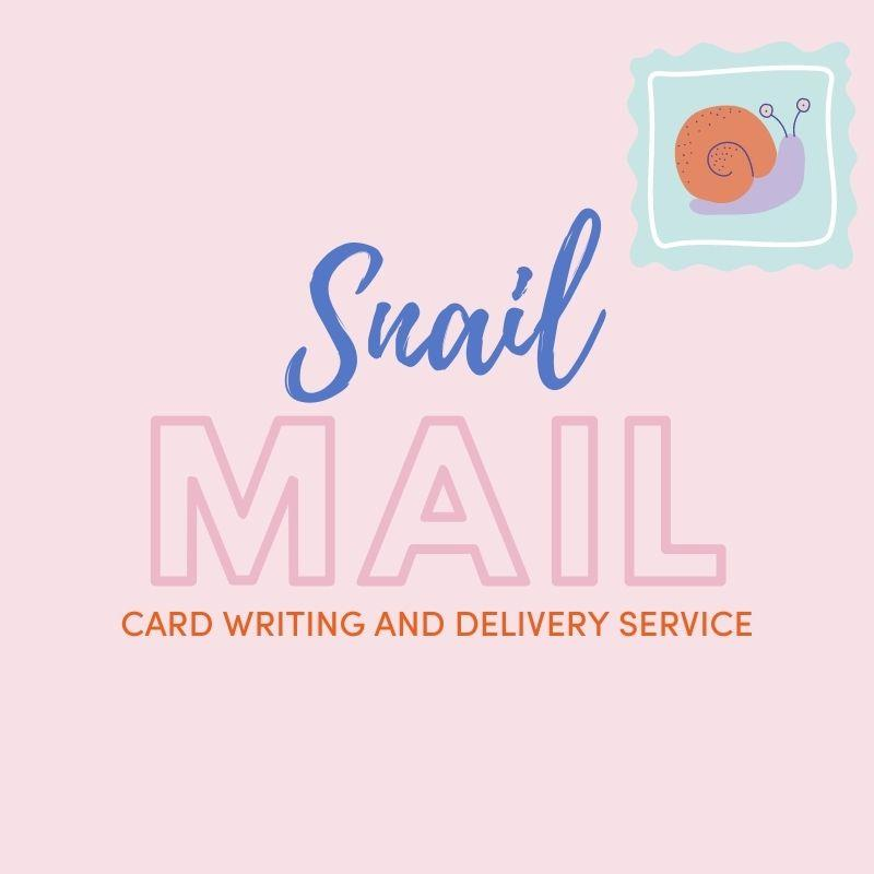 Snail Mail Card Writing Service