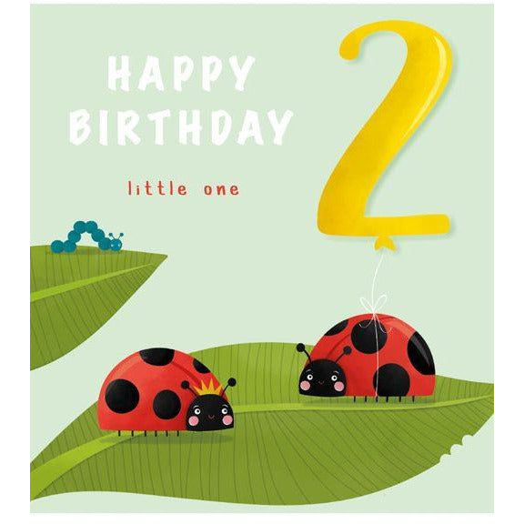 2nd Birthday Lady Bug - WSB02