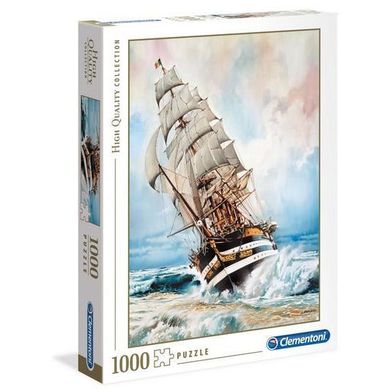 Amerigo Vespucci Sailboat - 1000 Pieces