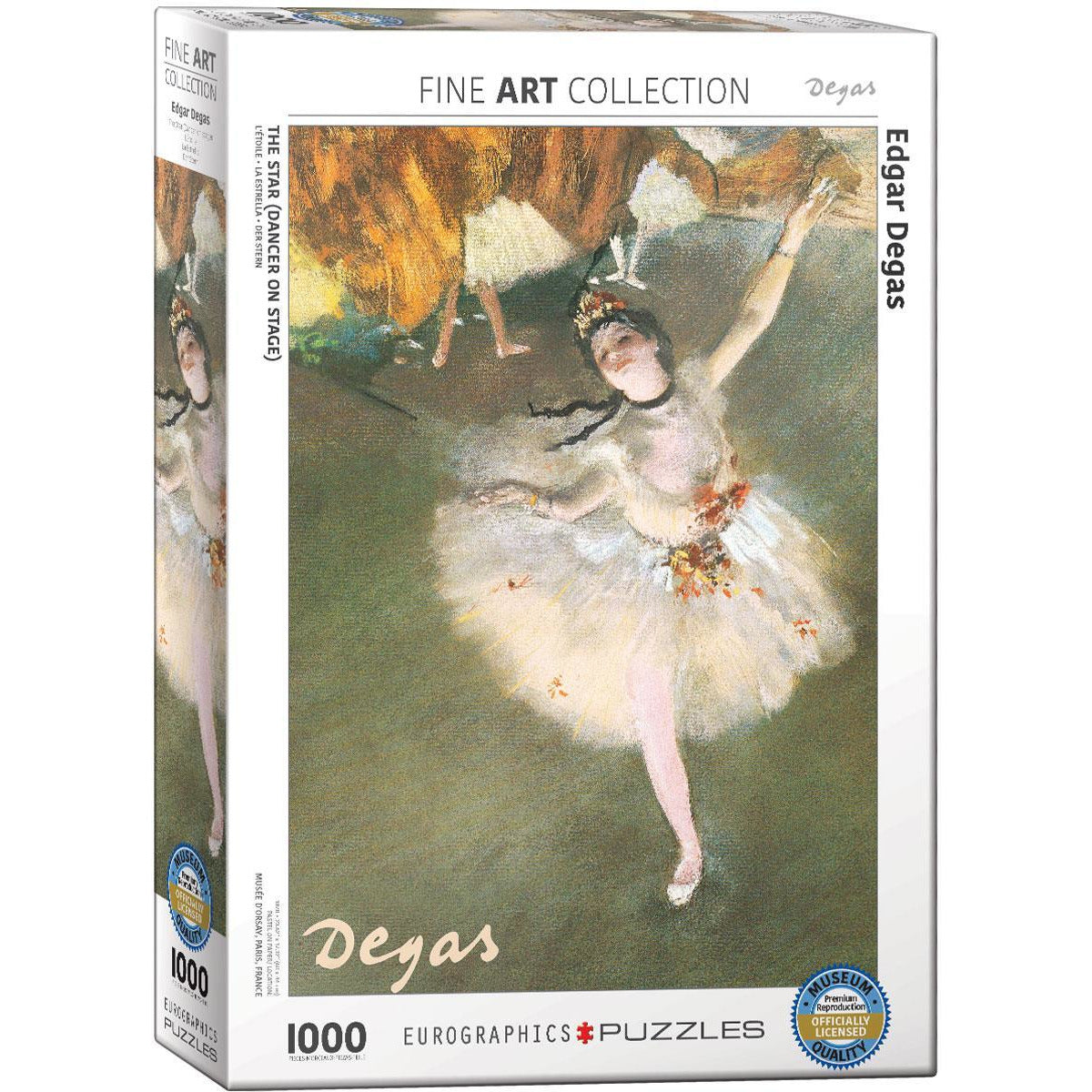 Ballerina by Degas - 1000 Pieces