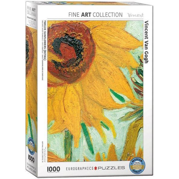 Sunflower by Van Gogh - 1000 Pieces