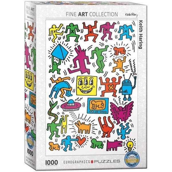Collage by Keith Haring - 1000 PIeces