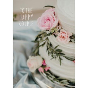 Happy Couple Wedding Card | The Gifted Type