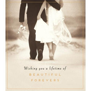 Beautiful Forevers Wedding Card | The Gifted Type