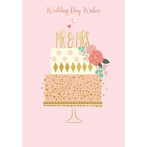 Wedding Day Wishes Wedding Cards | The Gifted Type