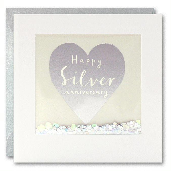 Silver Anniversary Card | The Gifted Type