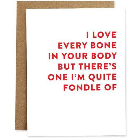 Quite Fondle Of Love Cards | THe Gifted Type