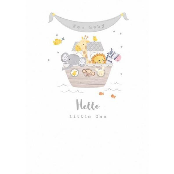 Hello Little One Card | The Gifted Type