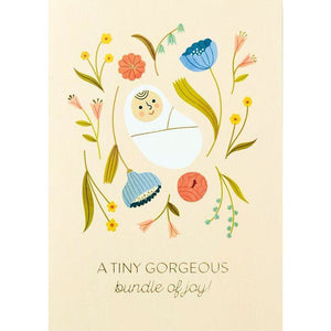 Bundle of Joy Greeting Card | The Gifted Type