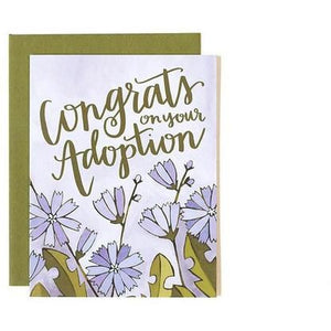 Adoption Congrats Card | The Gifted TYpe