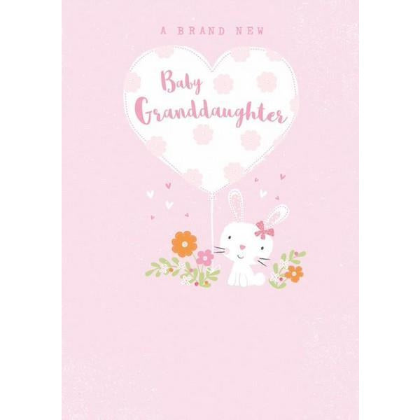 New Baby Granddaugther Card | The Gifted Type