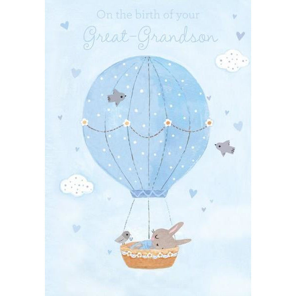 Great Grandson Baby Card | The Gifted Type