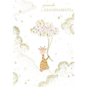 Proud Grandparents Baby Card | The Gifted Type