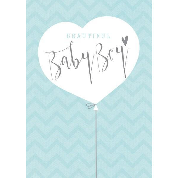 Beautiful Baby Boy Card | The Gifted Type