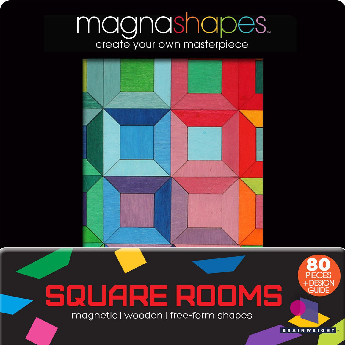 Square Rooms | Magnashapes | The Gifted Type