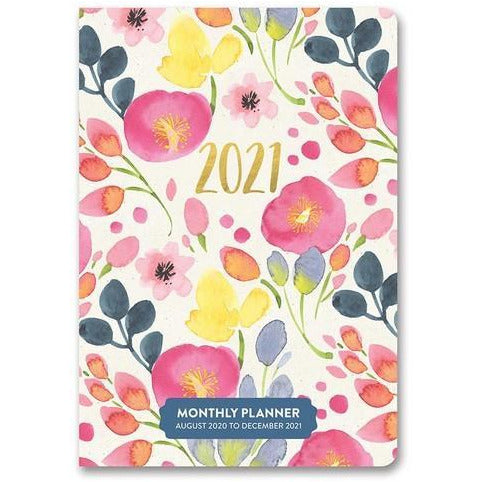 Bold Blossoms Pocket Planner - 17 Months