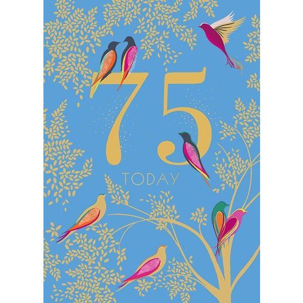 75 Today - Greeting Card