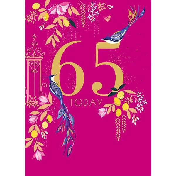 65 Today - Greeting Card