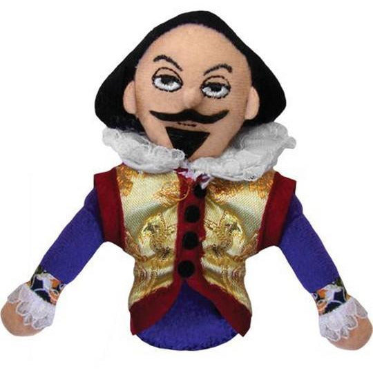 Shakespeare - Magnetic Finger Puppet