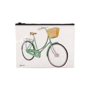 Blue Q Zipper Pouch Bicycles | The Gifted Type