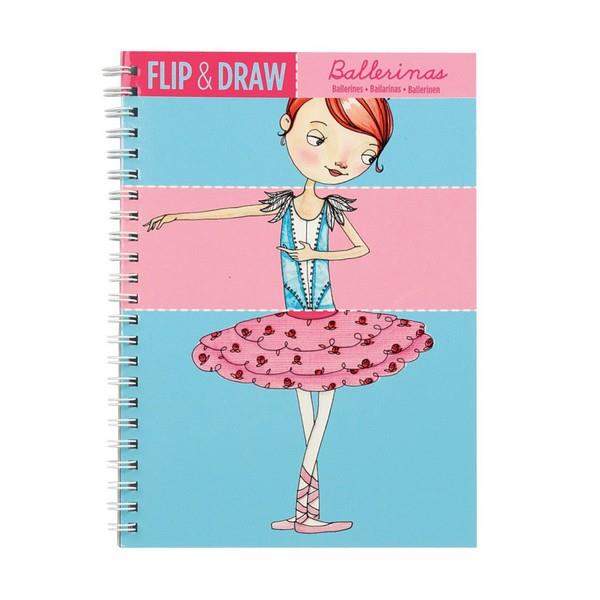 Flip And Draw Ballerinas | Activity Book | The Gifted Type