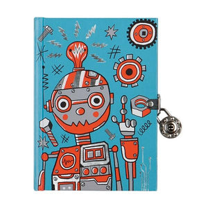 Robots Lock Diary | The Gifted Type