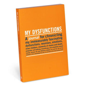Knock Knock Inner-Truth Mini Journal My Dysfunctions | The Gifted Type
