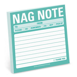 Knock Knock Sticky Notes Nag Note | The Gifted Type